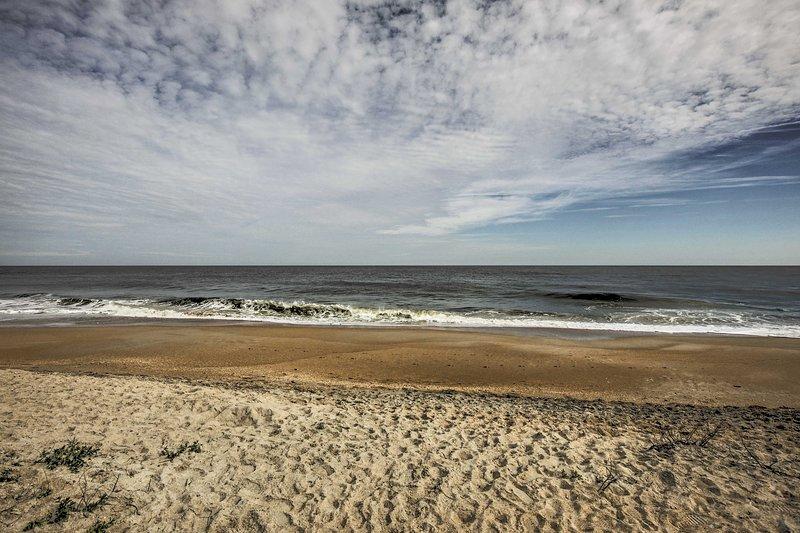 La costa panoramica di Vilano Beach si trova a soli 2 isolati di distanza.