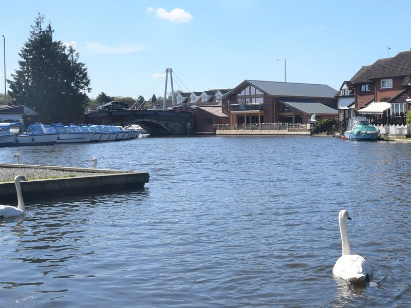 The broads captial Wroxham is well worth a visit