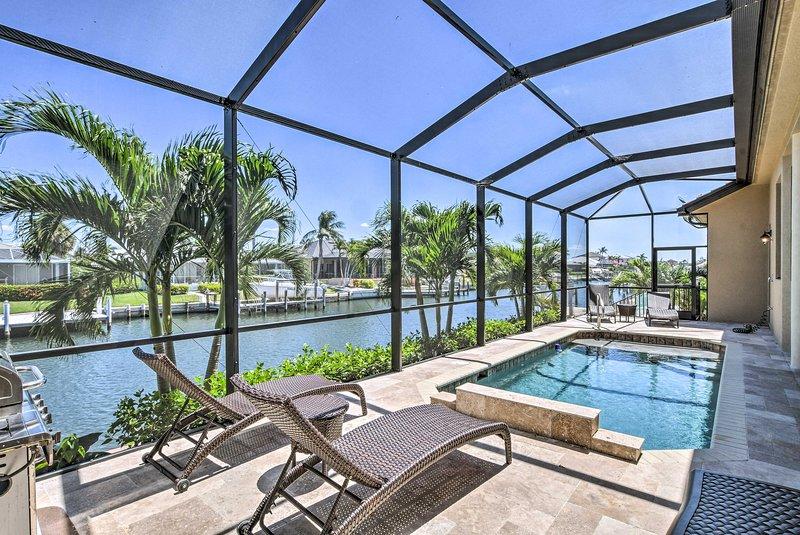 Añadir un poco de lujo para su próxima escapada de Marco Island en esta casa de vacaciones!