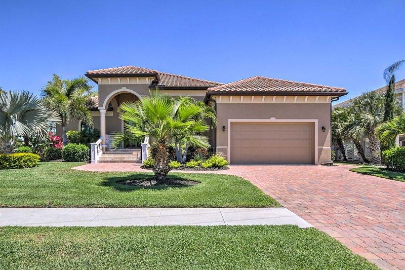 Haga su justicia vacaciones en Florida y permanecer en esta casa frente al mar de lujo!