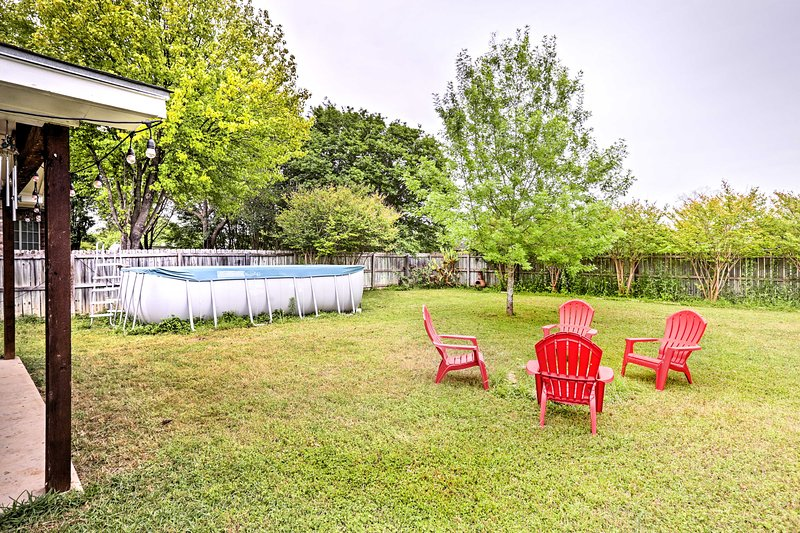 Fall in love with the Lone Star State when you stay at this vacation rental house!