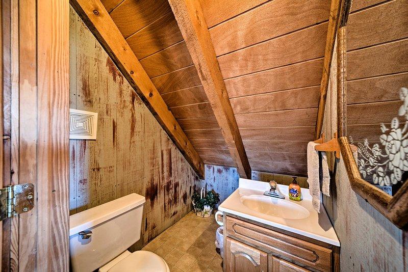 La cabine comprend 1,5 salles de bains.