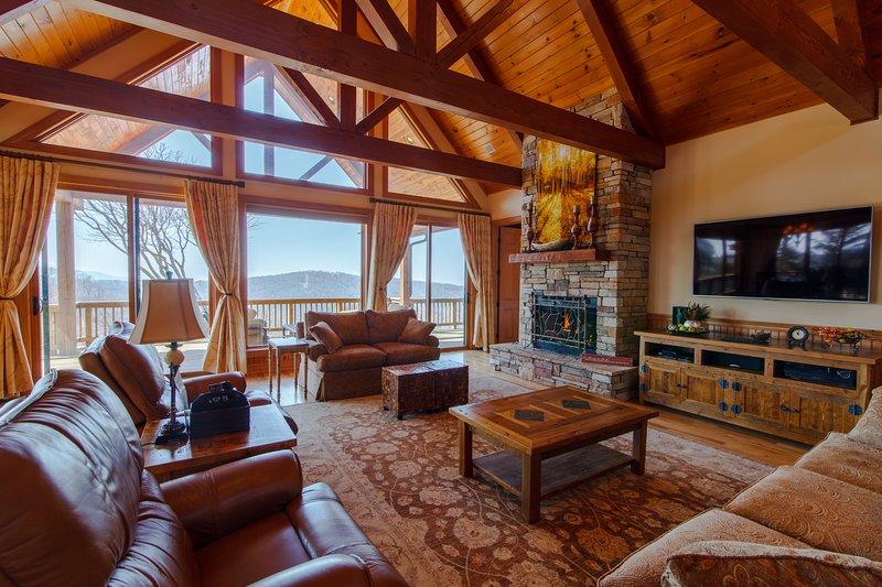 Living Room at Golden Peak