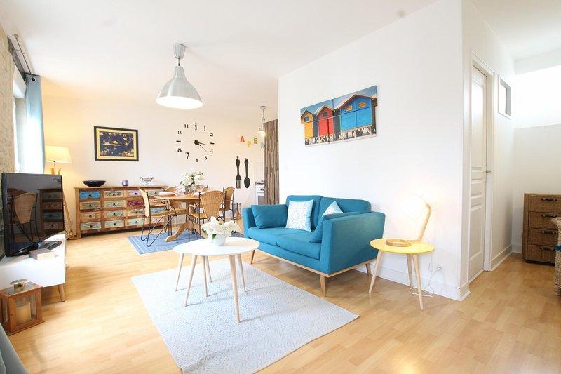 La Maison de Jonas, F3 en duplex, location de vacances à Douvres-la-Delivrande