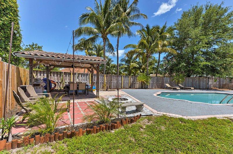 Aproveite ao máximo a sua escapadela de Florida, neste casa de férias Boca Raton!