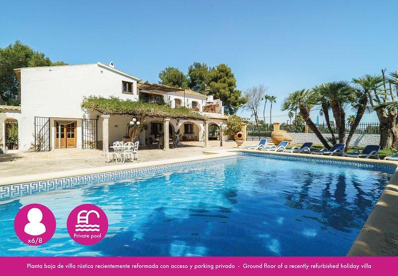 Book It Villa Moraira Caprice, Ferienwohnung in Canor