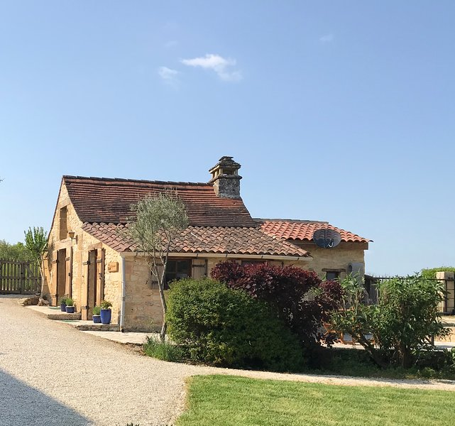 Gîte Lavande, the bakers house from C1826, with original bakers oven which is in the bedroom!