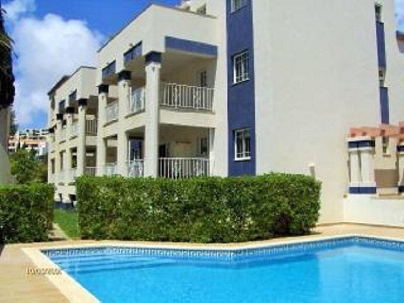 Swimming pool and apartment