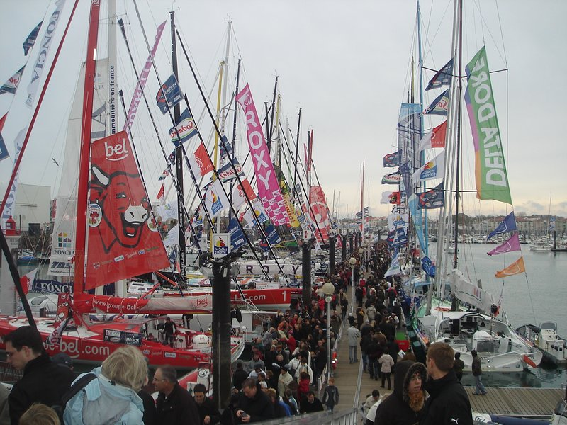 Vendée Globe every 4 years in Sables d'Olonne