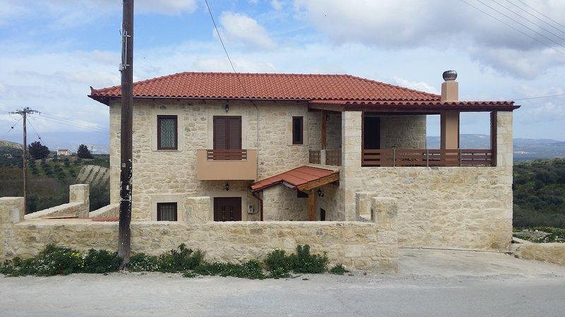 The amazing stone villa
