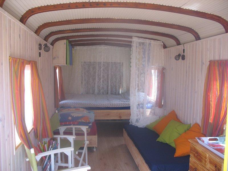 Casa do Pipo tweepersoonsbed en 2 kind bedden