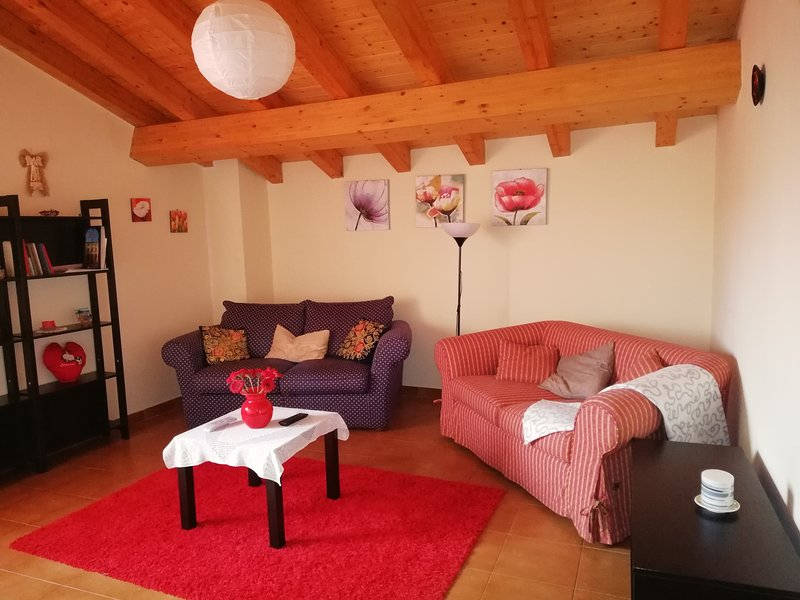 bellissimo attico con vista ETNA e TAORMINA, holiday rental in Pennisi