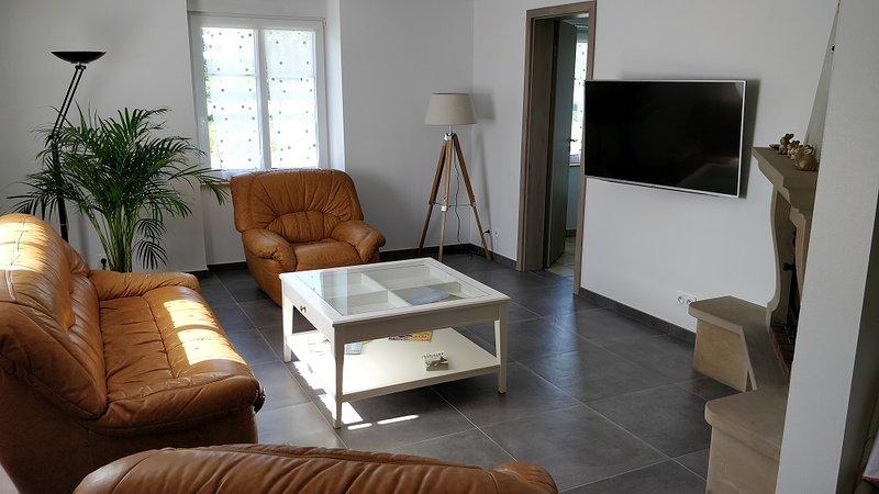 Appartement F3 90 m2 climatisé, Jacuzzi, WIFI, Parking privé, vacation rental in Lingolsheim