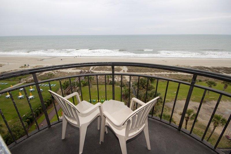 Vista del balcón / océano