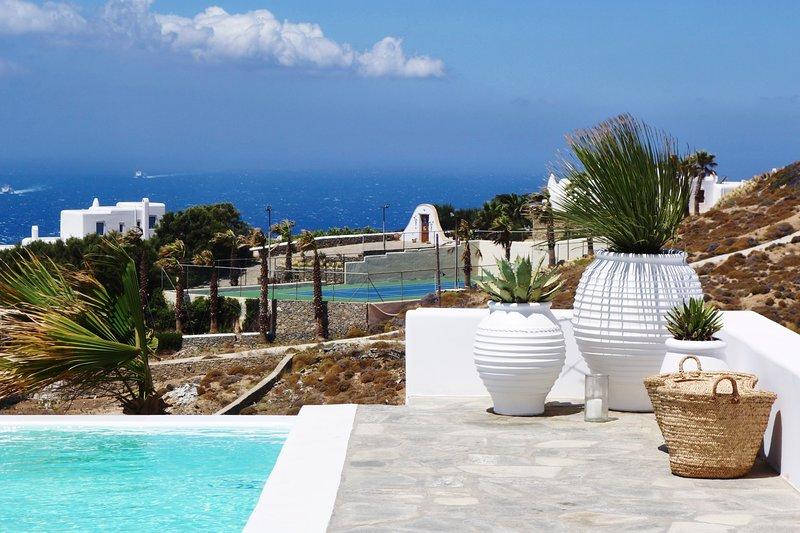 Azolla Villa Mykonos, holiday rental in Faros Armenistis