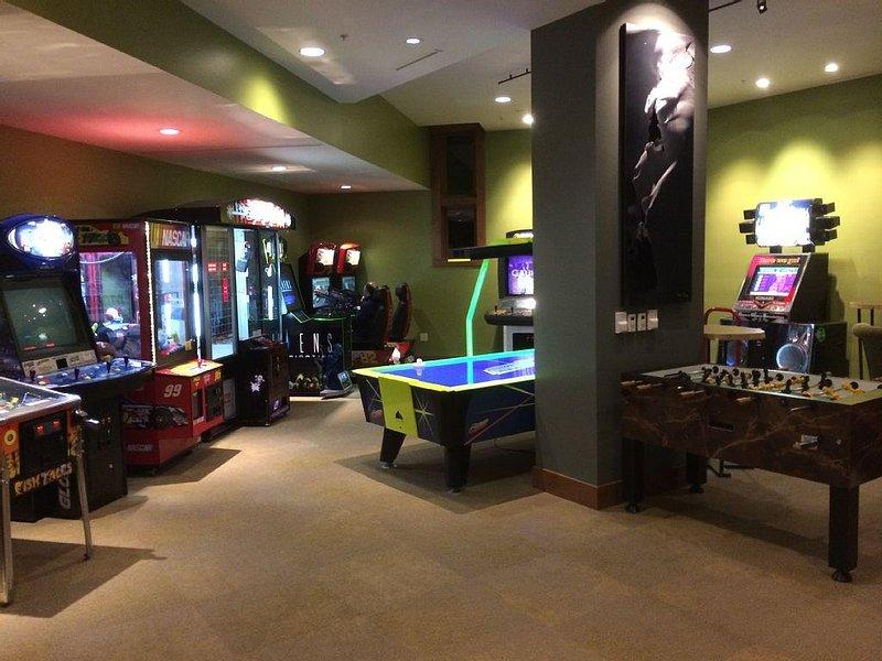The Ritz Carlton Penthouse Onsite Arcade