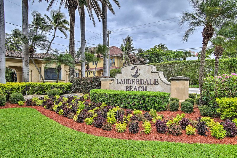 Find your Floridian paradise at Lauderdale Beach.