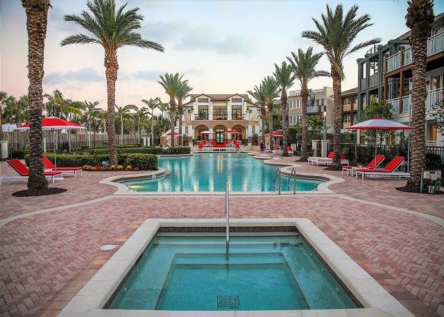El área de la piscina, Casa Club & Residences alquiler
