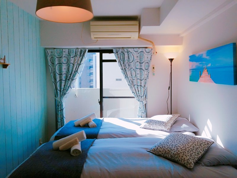 Namba,Nipponbashi 7min! OSAKA Sunshine House! # 7C, holiday rental in Namba