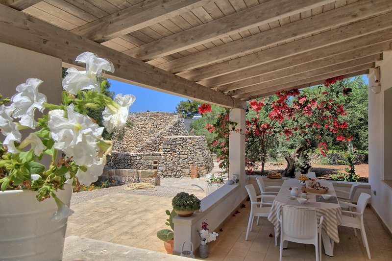 Antico Trullo lovely house, vacation rental in Marina San Gregorio