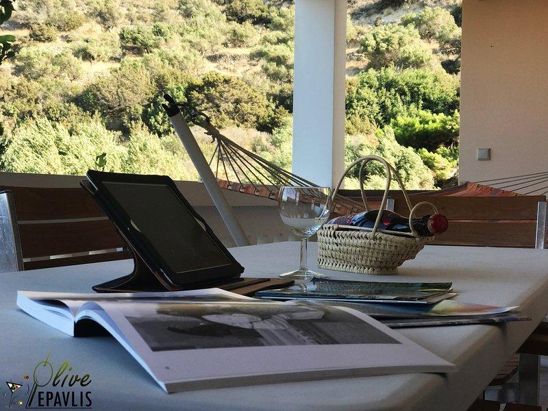 Olive Epavlis, holiday rental in Kira Panagia