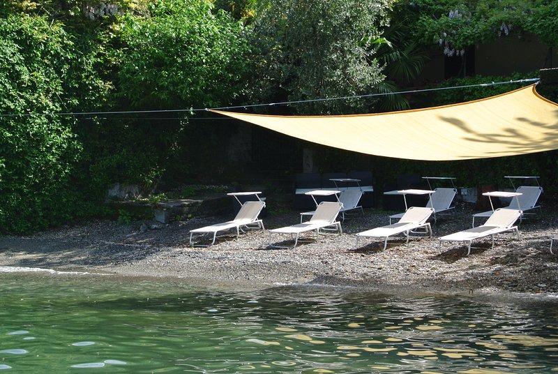 Playa privada Domus Plinii