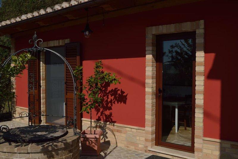 Casa di Puffi - Ruhig und gemütlich, vacation rental in Monte Giberto