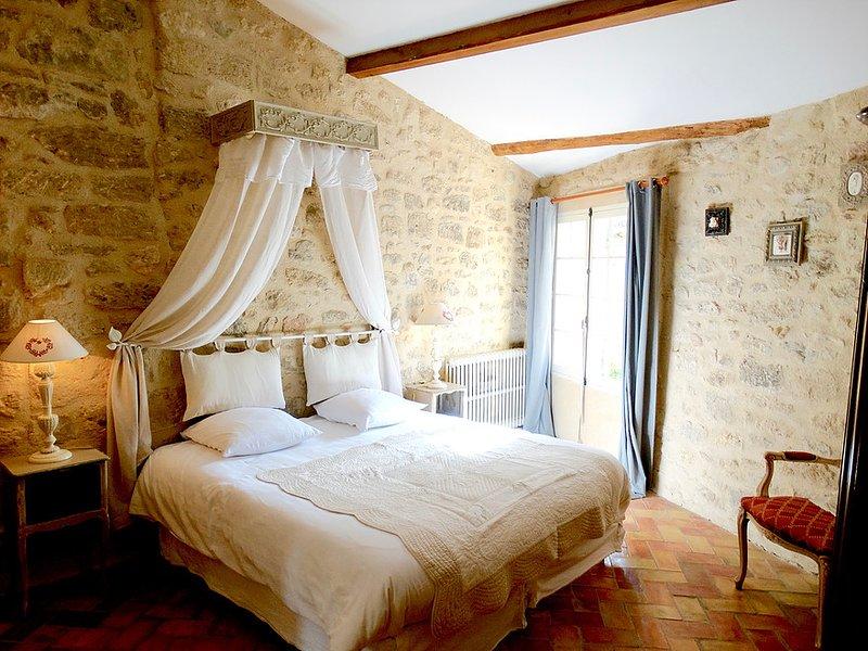 1: a våningen sovrum med privat badrum