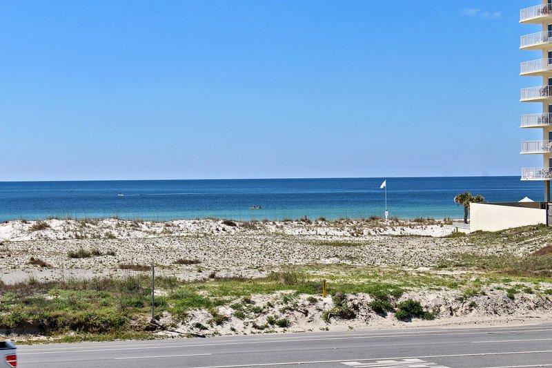 Bekijk zuiden van de Beach
