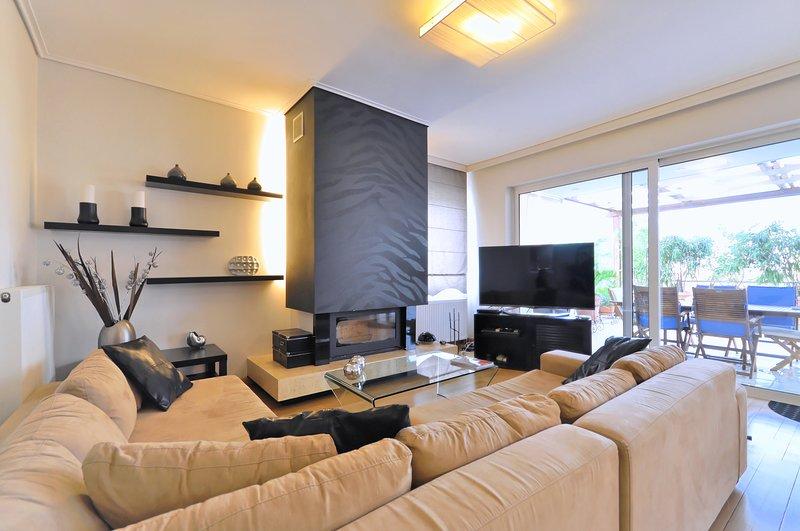 Luxurious Apartment in Glyfada near Beaches – semesterbostad i Glyfada