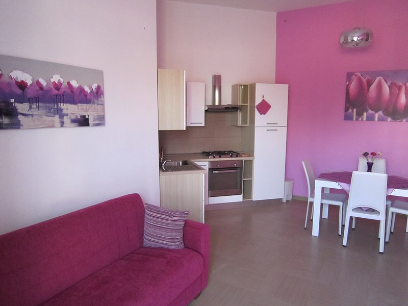 Beautiful apartment with terrace, holiday rental in Salignano