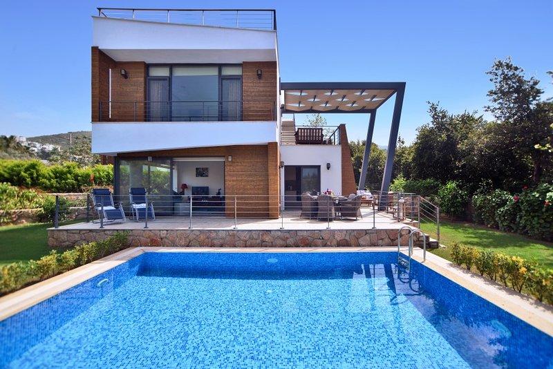 Villa Kismet, Yalikavak Bodrum Super Stylish holiday villa with private pool, holiday rental in Bodrum District