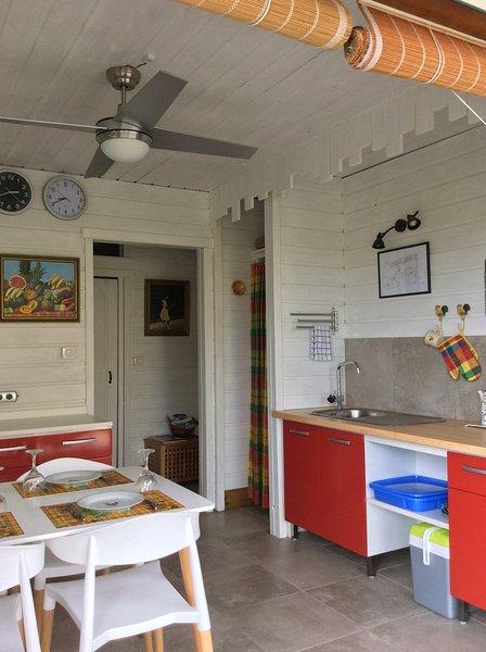 Gîte Maison Flandrin...du bienêtre en bord de mer de Caraïbes, Guadeloupe, alquiler de vacaciones en Vieux-Habitants