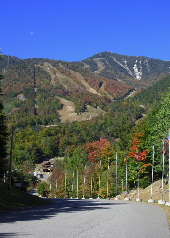 Oktober Fest is the first weekend in October at Whiteface Mountain.