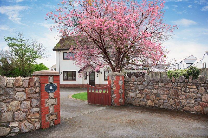 Seaside Pet Friendly Cherry Tree Cottage - 1 minutes walk to Port Eynon Beach!!, location de vacances à Port Eynon