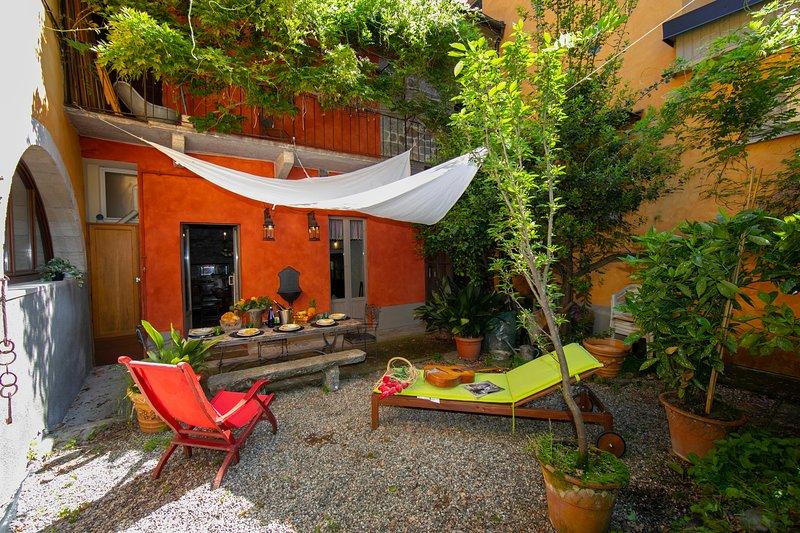 The garden of Residenza il Glicine
