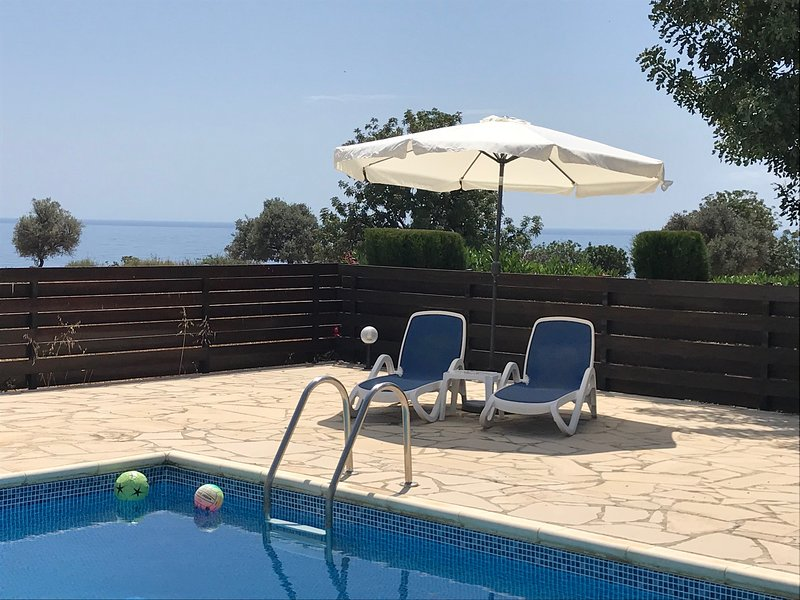 Villa Lilly is a rare find in a secluded,tranquil location in hills of Coral Bay, vacation rental in Peyia