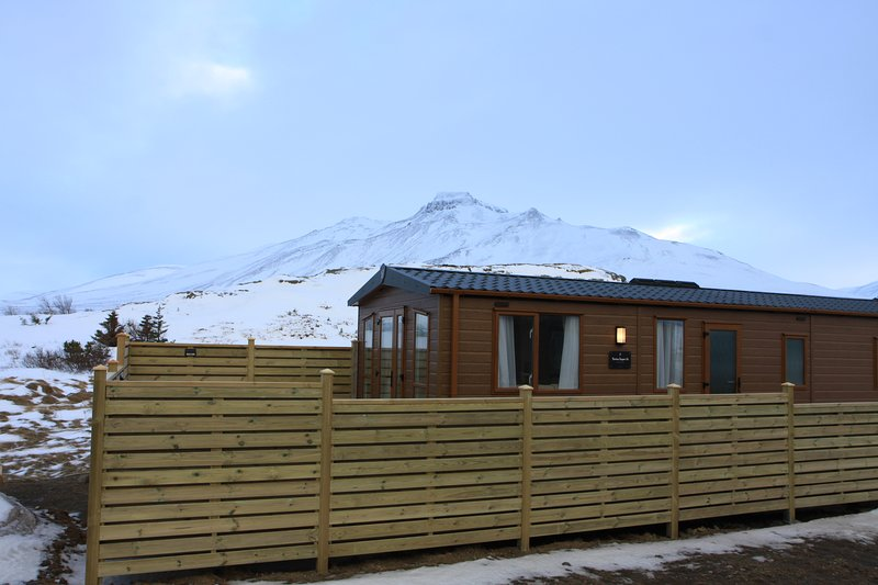 Studlaberg Cottage, 2 Bedrooms, Mountain and sea View, vacation rental in Saudarkrokur