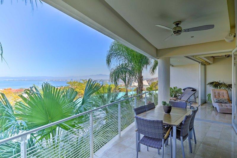 Upplev tropiskt paradis på Puerto Vallarta lägenhet!