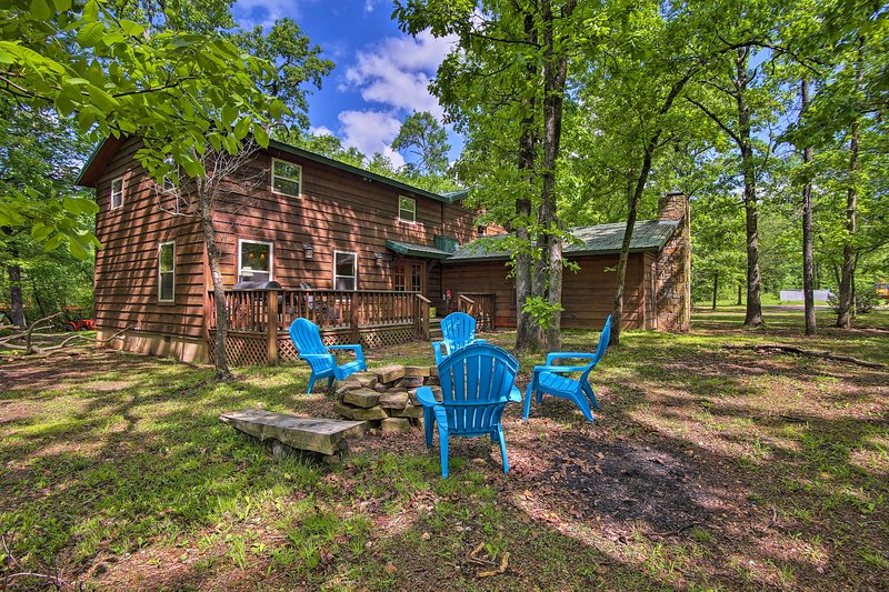 Discover beautiful Broken Bow at this vacation rental home!