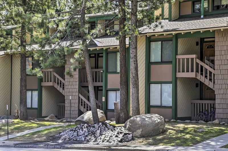 Este condominio se encuentra a pocos minutos de la estación de esquí.