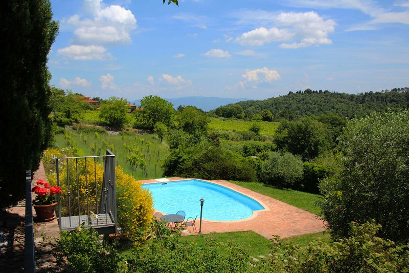 Palazzuolo Alto Villa Sleeps 10 with Pool - 5490337, holiday rental in Rapale