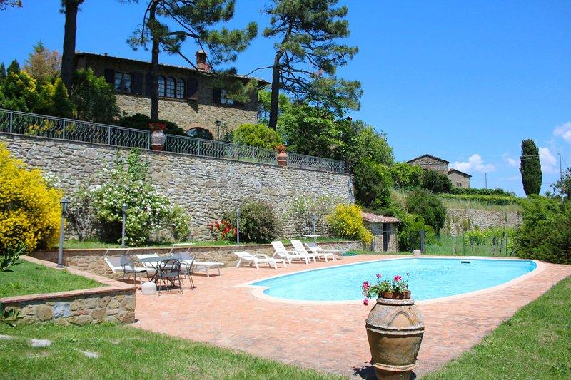 PALAZZOLO ALTO, aluguéis de temporada em Monte San Savino