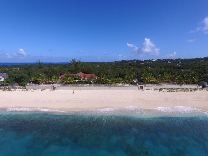 Baie Long Beach House... a 3BR vacation rental, steps to Baie Longue, St. Martin