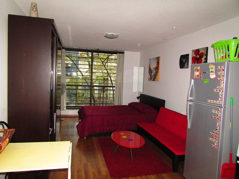 Beautiful & well-located studio with a balcony!, holiday rental in Montevideo