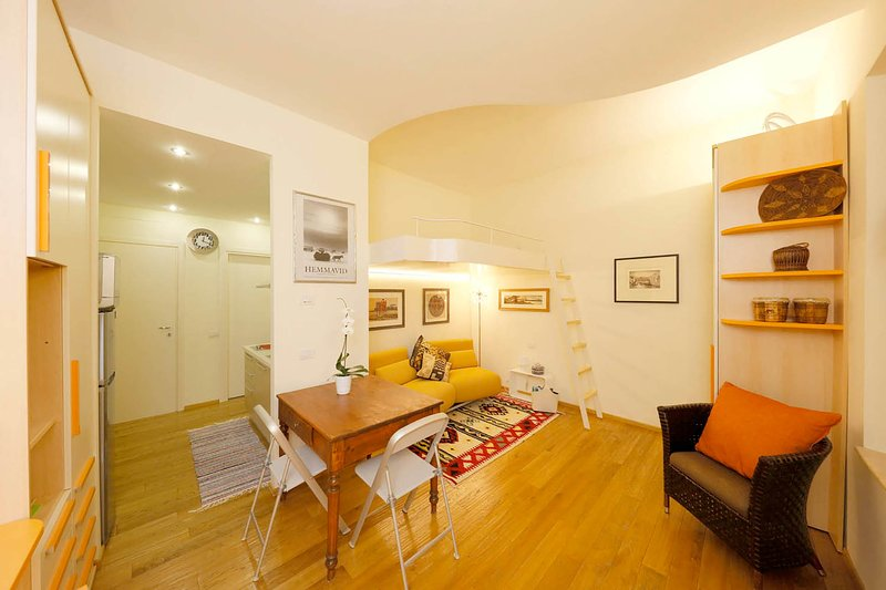 Charming studio flat in the center of Siena, holiday rental in Tognazza