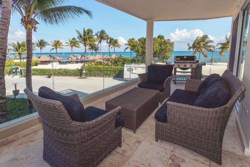 Votre océan privé Vue terrasse avec barbecue