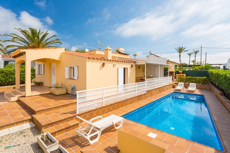Beautiful villa with private pool and terrace area