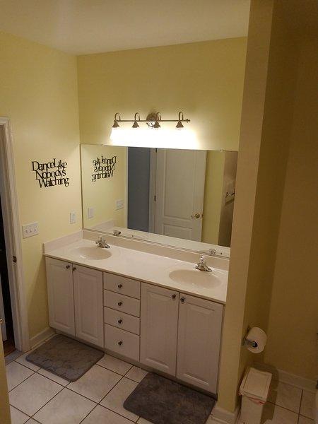 Large Master Bathroom