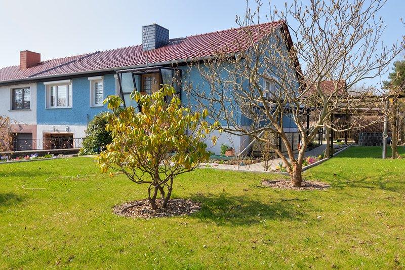 Ferienhaus in unmittelbarer Nähe zur Insel Usedom, holiday rental in Zussow